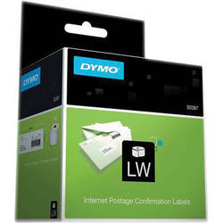 """Dymo LabelWriter Internet Postage Confirmation Labels (2.3 x 10"""", 100 Labels)"""