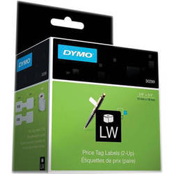 "Dymo LabelWriter Jewelry Price Tag (2-up) Labels (3/8 x 3/4"")"