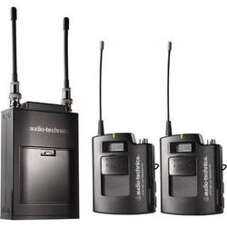 Audio-Technica ATW-1821C - Dual Wireless Microphone System