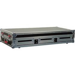 "Gator Cases G-TOUR COF-LGCD10-ARM1-PL Large Coffin Case with DJARM; 10"" Mixer Section (Black)"