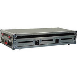 "Gator Cases G-TOUR COF-LGCD12-ARM1-PL Large Coffin Case with DJARM; 12"" Mixer Section (Black)"