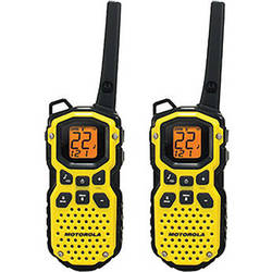 Motorola Talkabout MS350R 2-Way Radio Pair (Yellow)