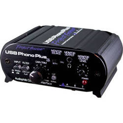 ART USB Phono Plus Phono Preamp with USB