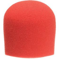 "WindTech 900 Series Microphone Windscreen - 1-5/8"" Inside Diameter (Red)"