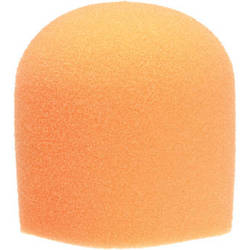 "WindTech 900 Series Microphone Windscreen - 1-5/8"" Inside Diameter (Orange)"
