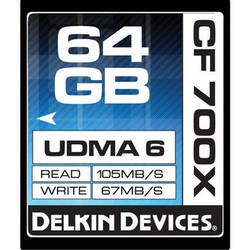 Delkin Devices 64GB CompactFlash Memory Card 700x UDMA