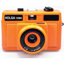 Holga HolgaGlo 135BC Glows in the Dark Camera (Aura Orange)