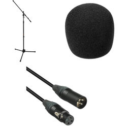 B&H Photo Video Dynamic Microphone Essentials Kit (XLR to XLR)