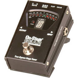 On-Stage GTA7800 True-Bypass Pedal Tuner