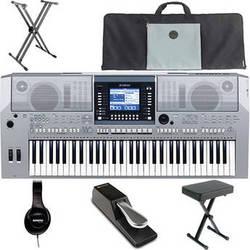 yamaha psr s710 61 key arranger workstation keyboard value b h. Black Bedroom Furniture Sets. Home Design Ideas