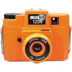 Holga HolgaGlo 120N Glows in the Dark Camera (Aura Orange)