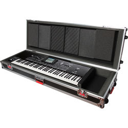 Gator Cases G-TOUR 76V2 76 Note Road Case with Wheels (Black)