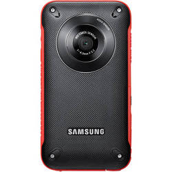 Samsung HMX-W300 Pocket Camcorder (Red)