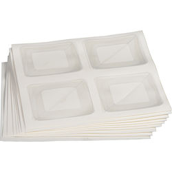 "Lineco 1.25"" Polypropylene Corners (72-Pack)"