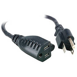 Comprehensive Universal AC Power Extension Cord - 10'