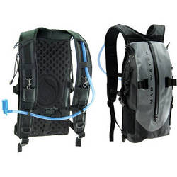Madwater Action Sports Waterproof Hydration Pack (Gray)