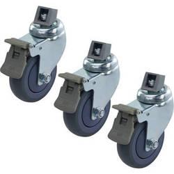 Kupo 100mm Brake Caster M10 Threaded (Set 3)