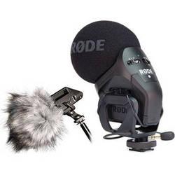 Rode Stereo VideoMic Pro + Dead Kitten Windshield Bundle