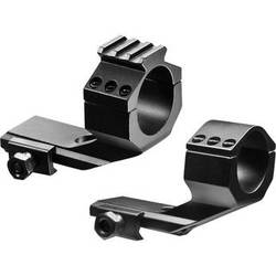 """Barska AW11768 Cantilever Mount/Integrated 30mm Rings w/Rail & 1"""" Inserts"""