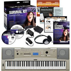 Yamaha YPG-235 76-Key Portable Keyboard Basics Kit