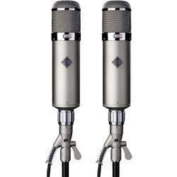 Telefunken U48 Dual-Pattern Tube Microphone Stereo Set