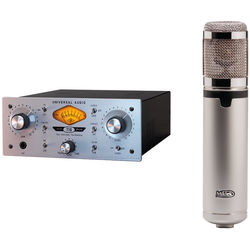 Universal Audio 710 Twin-Finity + Miktek CV4 Microphone Bundle