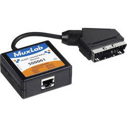 MuxLab 500061 SCART / Peritel Balun (Receiver)