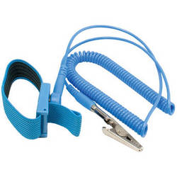 Kingwin Anti-Static Wrist Strap with Grounding Wire (Blue)