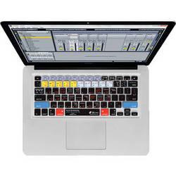 KB Covers Ableton Live Keyboard Cover for MacBook, MacBook Air & MacBook Pro (Unibody, Black Keys)