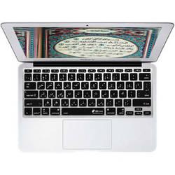 KB Covers Arabic Keyboard Cover for MacBook Air 11-inch (Unibody, Black Keys)