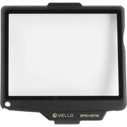Vello Snap-On Glass LCD Screen Protector for Nikon D700