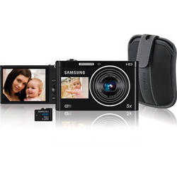 Samsung DV300F Digital Camera Kit (Black)