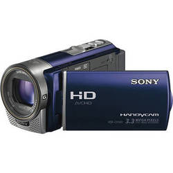 Sony HDR-CX160 HD Flash Memory Camcorder (Blue)