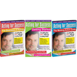 First Light Video DVD: Acting for Success (3 DVD Set)