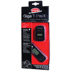 hahnel Giga T Pro II 2.4GHz Wireless Timer Remote for Canon Cameras