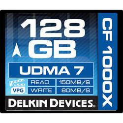 Delkin Devices 128GB CompactFlash 1000x UDMA Memory Card
