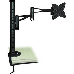 Bentley LCD-T6 LCD Monitor Table Stand w/ Arm & Desk Clamp