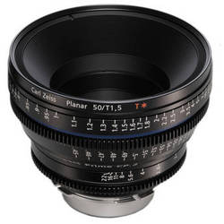 Zeiss Compact Prime CP.2 50mm/T1.5 Super Speed MFT Mount with Imperial Markings