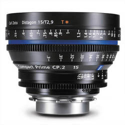 Zeiss Compact Prime CP.2 15mm/T2.9 MFT Mount with Imperial Markings