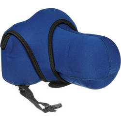 Zing Designs Large Zoom SLR Reversible Camera Cover (Blue)