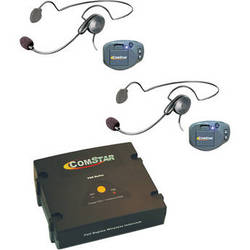 Eartec ComPAK Com-Center and Cyber Headset System (2 Piece)