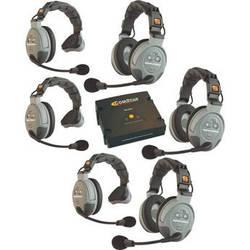 Eartec COMSTAR XT 6-User Full Duplex Wireless Intercom System