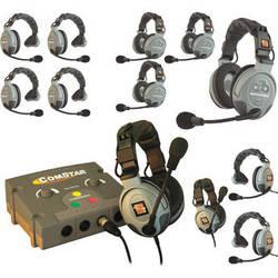 Eartec COMSTAR Flex Max Series 12-User Full Duplex Intercom System