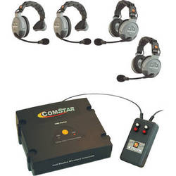 Eartec XT-Plus Com-Center with Interface and 4 COMSTAR Headsets