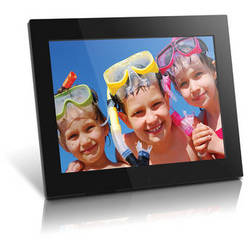 "Aluratek 15"" Hi-Res Digital Picture Frame (Black)"