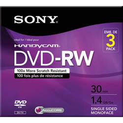 Sony DVD-RW (3-Pack)