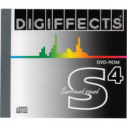 Sound Ideas Digiffects Surround Sound 4 DVD Sound Effects Library