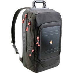 "Pelican U105 Urban Lite Backpack with a Pocket for a 15.4"" Laptop (Black with Red Zipper Pulls)"