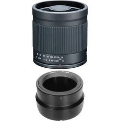 Kenko 400mm f/8.0 Mirror Lens with T-Mount SLR Camera Adapter for Sony NEX