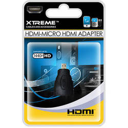 Xtreme Cables HDMI to Micro HDMI Adapter